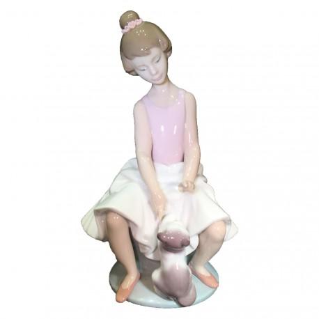 Figura Porcelna LLadro Pequeña bailarina