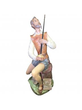 Figura Porcelna LLadro Don Quijote declamando