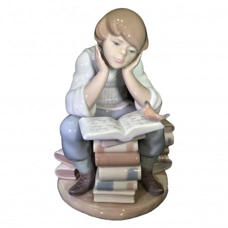 Figura Porcelana LLadro El sabio