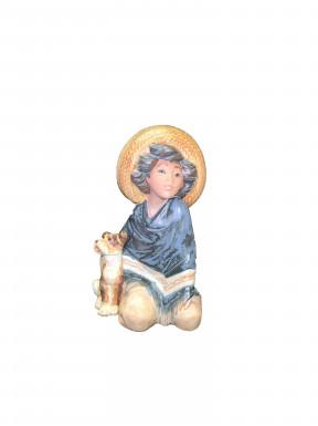 Figura Porcelana LLadro Mejicano perro al lado